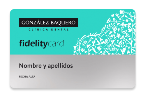 Fidelity Card - Baquero Odontología Familiar