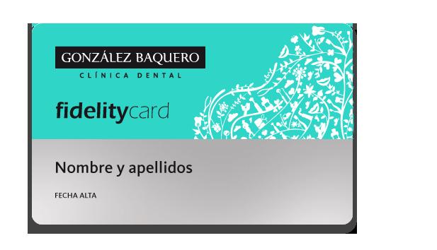 Fidelity Card - Baquero Odontología Familiar